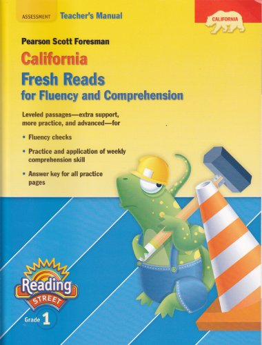 9780328390564: Pearson Scott Foresman California Fresh Reads for Fluency and Comprehension; (Reading Street; Grade 1)