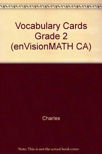 Vocabulary Cards Grade 2 (enVisionMATH CA)