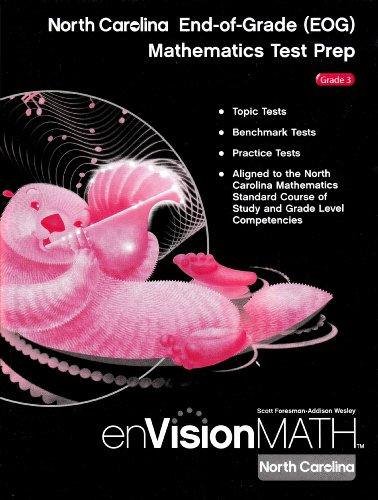 9780328420322: EnVision Math North Carolina End-of Grade (EOG) Mathematics Test Prep Grade 3