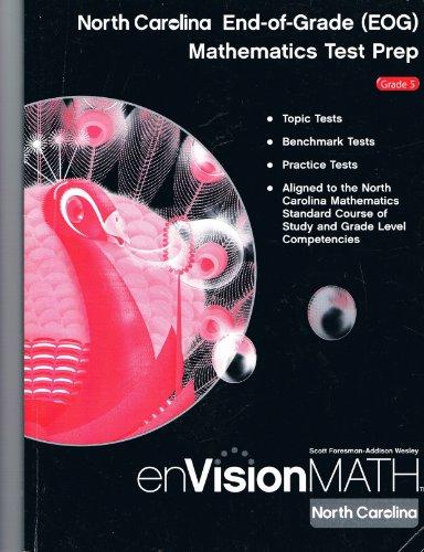 enVision Math North Carolina EOG Mathematics Test Prep Grade 5: Scott Foresman