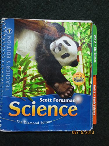 9780328455911: Teacher's Edition, Scott Foresman 4th Grade Science, Volume 1, Units a and B, Diamond Edition