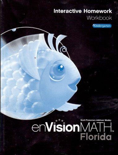 9780328461899: EnVisionMath: Interactive Homework Workbook, Florida, Kindergarten