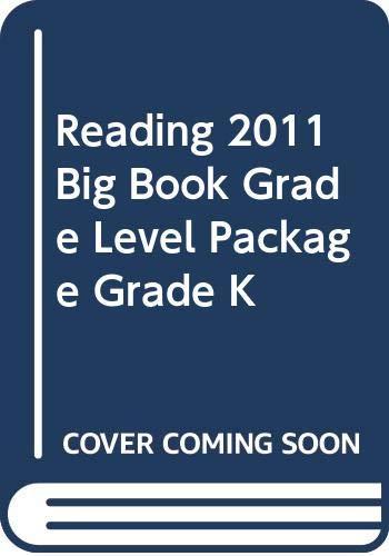 9780328466085: READING 2011 BIG BOOK GRADE LEVEL PACKAGE GRADE K