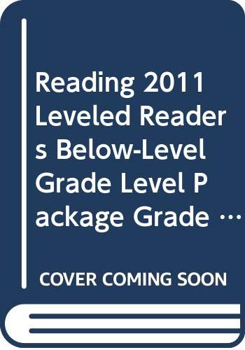 9780328466436: READING 2011 LEVELED READERS BELOW-LEVEL GRADE LEVEL PACKAGE GRADE 3