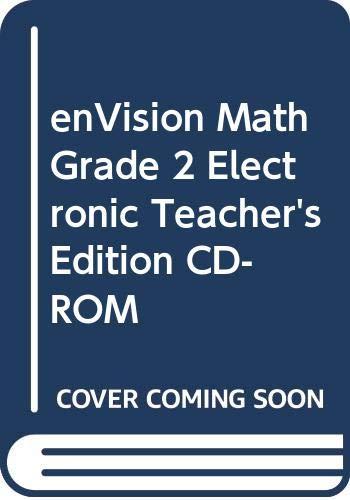 9780328467976: enVision Math, Grade 2 Electronic Teacher's Edition CD-ROM