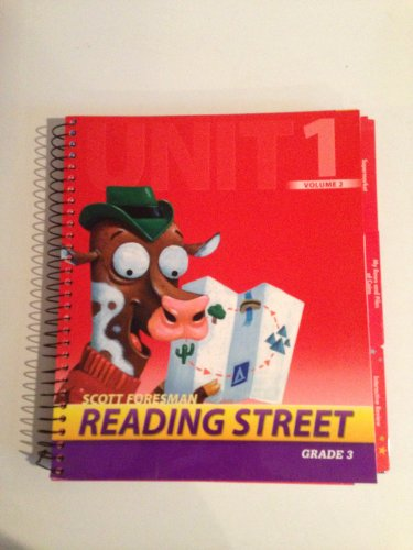 9780328470211: Scott Foresman Reading Streets, Grade 3, Unit 2, Vol 1, Teacher edition