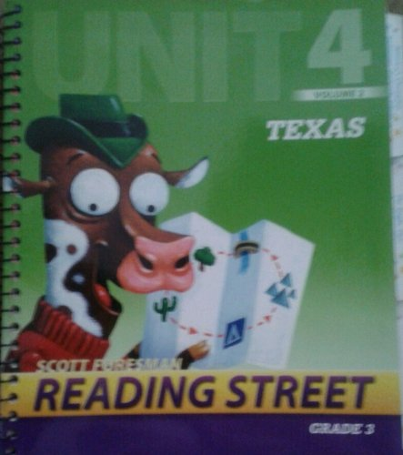 9780328471232: Scott Foresman Reading Street Texas, Grade 3, Unit 4, Vol. 2