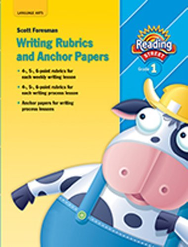 9780328476527: READING 2011 WRITING RUBRICS AND ANCHOR PAPERS GRADE 1