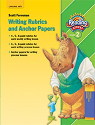 9780328476534: Reading Street, Grade 2: Writing Rubrics and Anchor Papers