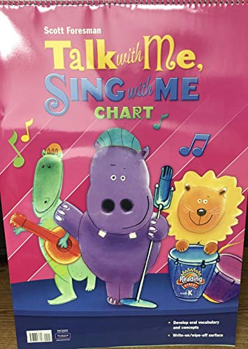 9780328476626: READING 2011 TALK WITH ME SING WITH ME FLIPCHART GRADE K