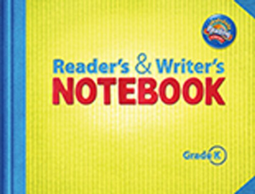 9780328476794: Reading 2011 Readers and Writers Notebook Grade K (Reading Street)