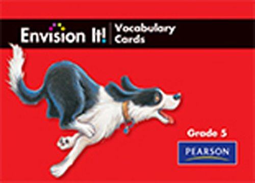 READING 2011 ENVISION IT! PICTURED VOCABULARY CARDS GRADE 5: Scott Foresman