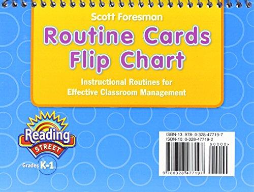 9780328477197: READING 2011 ROUTINE CARDS FLIPCHART GRADE K/1