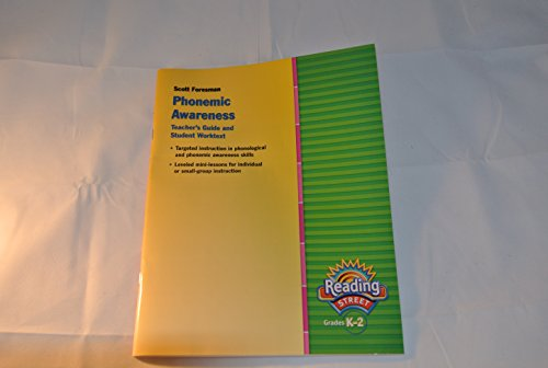 9780328477449: Reading Street Grades K-2 Phonemic Awareness