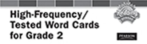 9780328478293: READING 2011 HIGH-FREQUENCY TESTED VOCABULARY CARDS GRADE 2