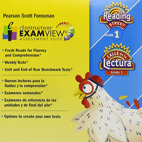 9780328480807: Scott Foresman Reading Street, Grade 1, Examview Assessment Suite (English and Spanish Edition)