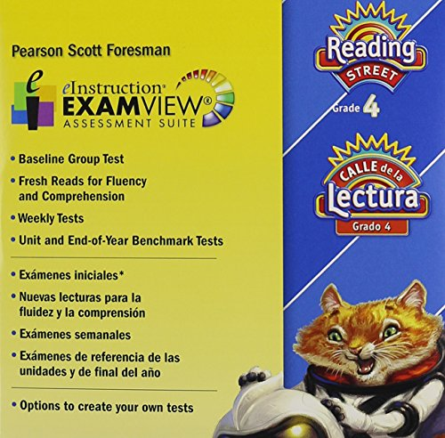 9780328480838: Scott Foresman Reading Street, Grade 4, Examview Assessment Suite (English and Spanish Edition)