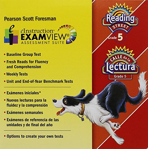 9780328480845: READING 2011 EXAMVIEW CD-ROM IN ENGLISH AND SPANISH GRADE 5