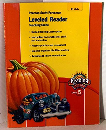 Pearson Scott Foresman Reading Street Grade 5 Leveled Reader