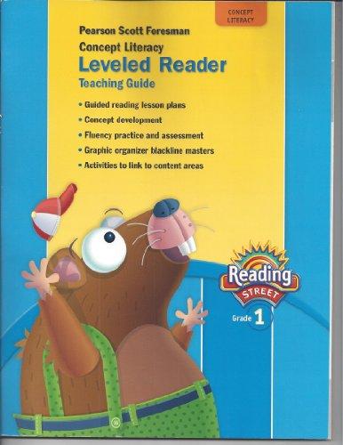 9780328484591: Concept Literacy Leveled Reader Teaching Guide, Grade 1 (Reading Street)