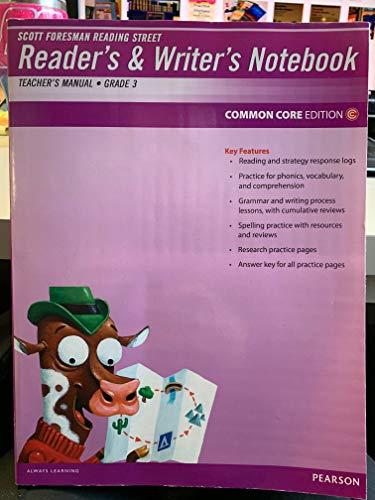 9780328484775: Scott Foresman Reading Street Reader's and Writer's Notebook Teacher's Manual Grade 3