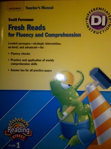 9780328484812: Fresh Reads for Fluency and Comprehension Assessment Teacher's Manual