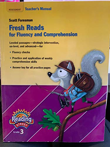 9780328484836: Teacher's Manual, Fresh Reads for Fluency and Comprehension, Reading Street, Grade 3, DI Differentiated Instruction