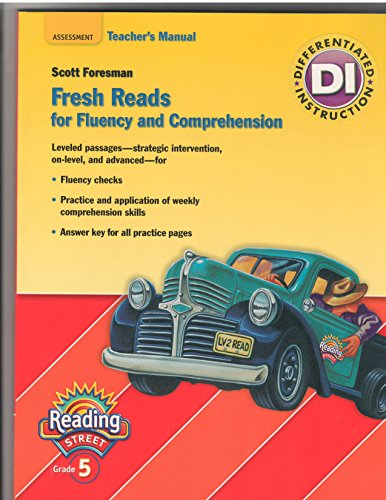 9780328484850: Fresh Reads for Fluency and Comprehension - Teacher's Manual - 5th Grade (Reading Street, Assessment