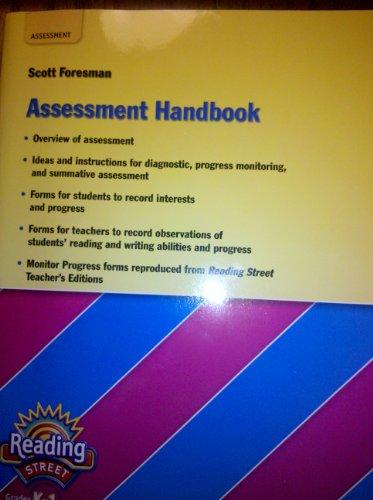 9780328485420: Scott Foresman Assessment Handbook, Grades k-1