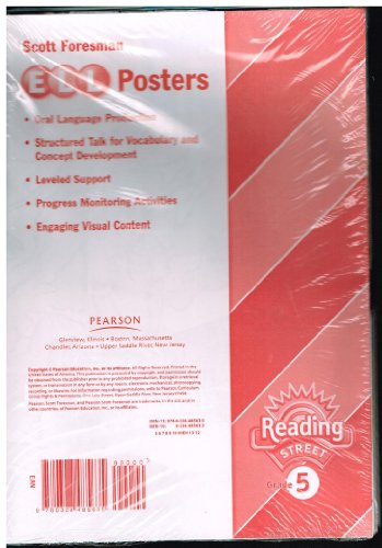 9780328485635: READING 2011 ENGLISH LANGUAGE LEARNERS POSTERS GRADE 5