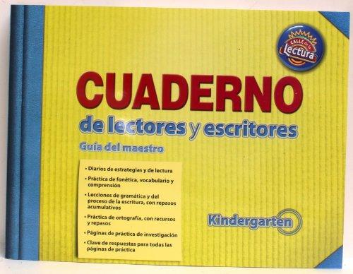 9780328486342: Scott Foresman Cuaderno de lectores y escritores Kindergarten Teacher's Workbook Answer Key