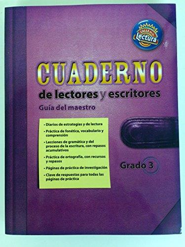 Cuaderno de lectores y escritores: Guia del maestro. Calle de la Lectura, Grado 3: Scott Foresman