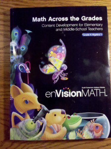 enVisionMath Math Across the Grades Content