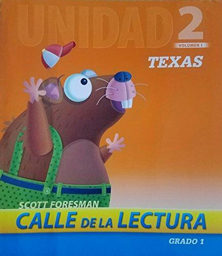 9780328491452: Calle de la Lectura Unidad 2 Volumen 1 Texas Grado 1