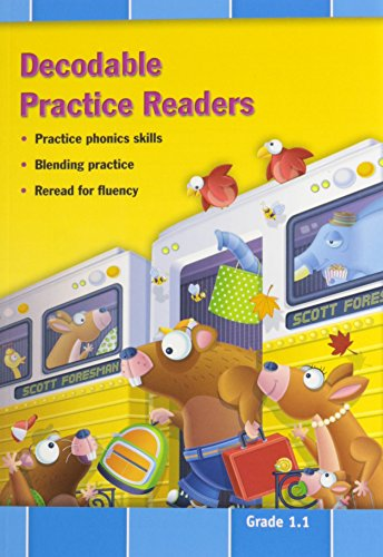 9780328492145: Decodable Practice Readers, Units R-1, Grade 1.1