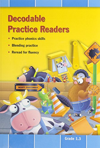 9780328492169: READING 2011 DECODABLE PRACTICE READERS:UNITS 4 AND 5 GRADE 1