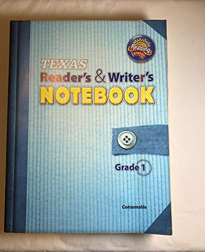 9780328495788: TX Reader's & Writer's Notebook, grade 1 consumable, Reading Street