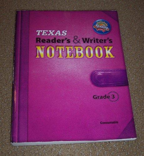 9780328495801: Texas Reader's & Writer's Notebook Grade 3 Readong Street