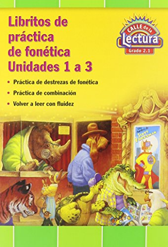 9780328502226: Reading 2011 Spanish Decodable Practice Reader Grade 2 Units 1-3