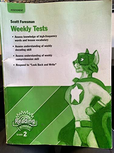 9780328508785: Pearson Scott Foresman Weekly Tests (Reading Street Grade 2)