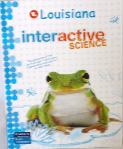 9780328513598: Louisiana Interactive Science Grade 3 2012 Student Edition
