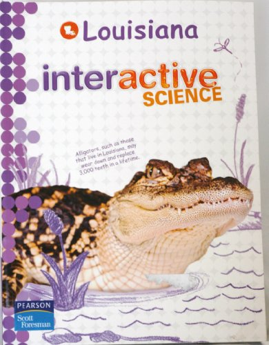 9780328513611: Louisiana Interactive Science Grade 5 2012 Student Edition