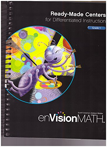 9780328514489: MATH 2011 READY-MADE CENTERS FOR DIFFERENTIATED INSTRUCTION GRADE 1
