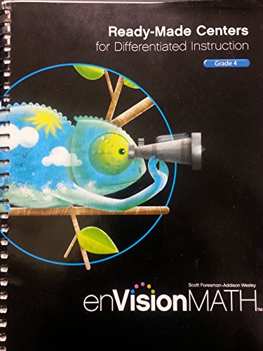 9780328514519: MATH 2011 READY-MADE CENTERS FOR DIFFERENTIATED INSTRUCTION GRADE 4