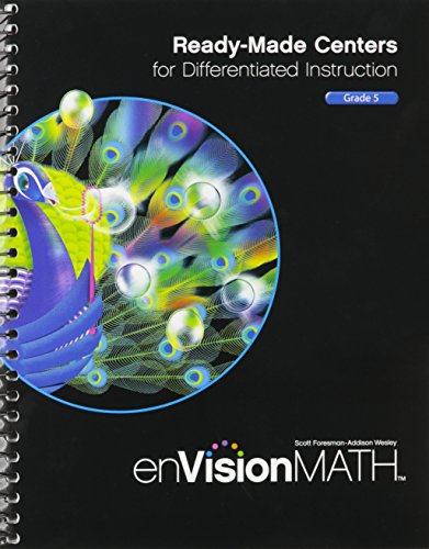 9780328514526: MATH 2011 READY-MADE CENTERS FOR DIFFERENTIATED INSTRUCTION GRADE