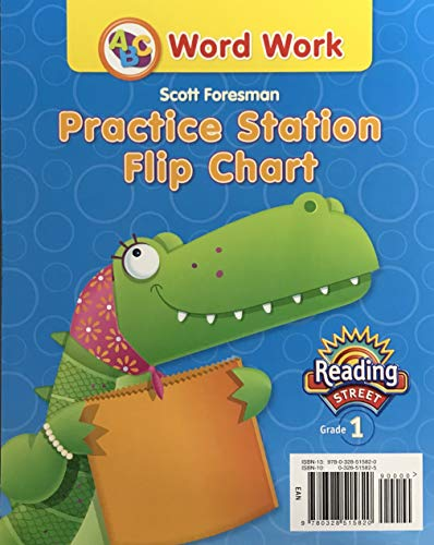 9780328515820: READING 2011 WORD WORK PRACTICE STATION FLIP CHART GRADE 1