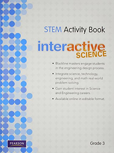 9780328521012: SCIENCE 2012 SCIENCE TECHNOLOGY ENGINEERING AND MATH ACTIVITY BOOK GRADE3