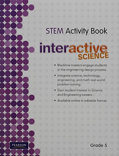 9780328521036: SCIENCE 2012 SCIENCE TECHNOLOGY ENGINEERING AND MATH ACTIVITY BOOK GRADE5
