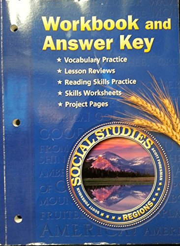 9780328522538: Workbook and Answer Key (Social Studies Regions)