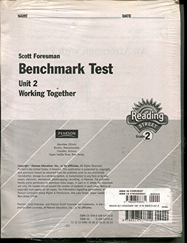 9780328538331: Benchmark Test Unit 2 Working Together Reading Street Grade 2 - 10 pack
